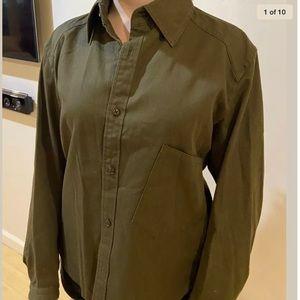 Y'S Yamamoto size 3 US 6-8 M dark green